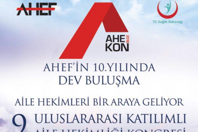 AHEKON Kongresi'nin İlk Duyurusu Yayınlandı