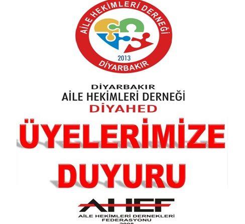 İzmir de Yaşanan Şiddet Olayı İle İlgili Ahef Eylem Planı