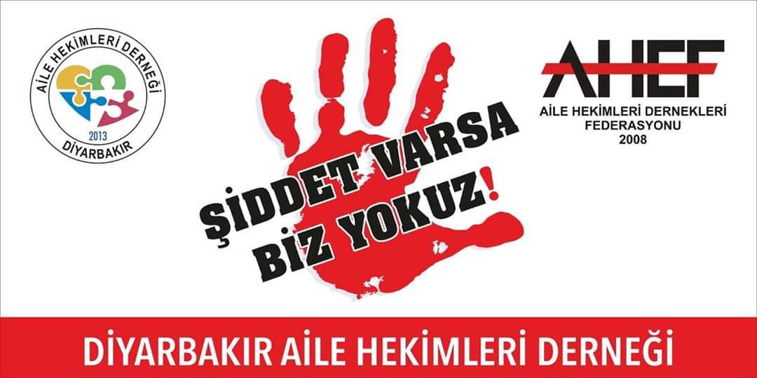 ŞİDDET VARSA BİZ YOKUZ!!!