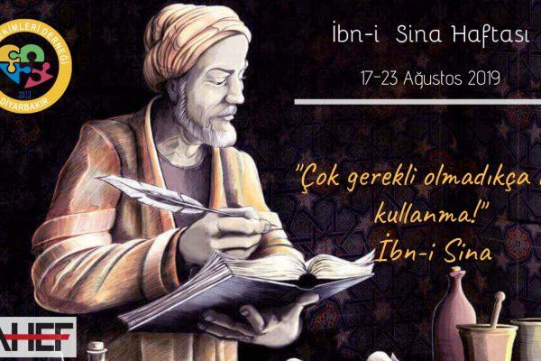 İBN-İ SİNA HAFTASI (17-23 AĞUSTOS 2019)