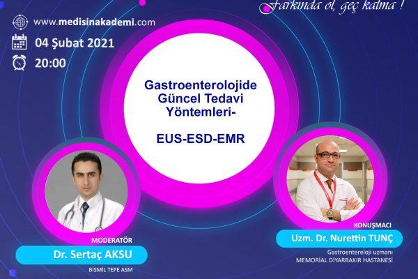 4 Şubat 2021 Gastroenterelojide Güncel Tedavi yöntemleri Eğitim Toplantısı